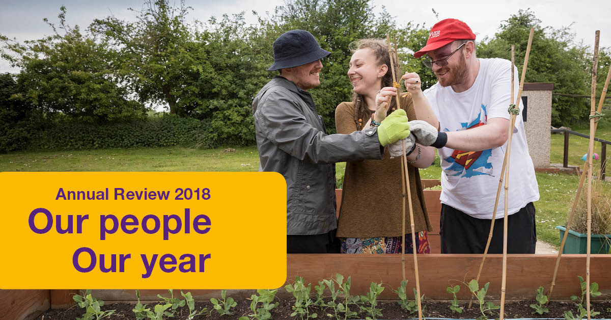 Take a look at our Annual Review for 2018
