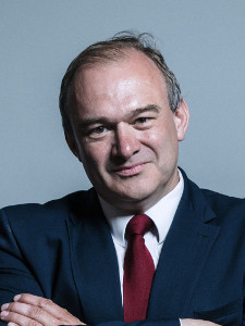 Official Portrait of Sir Ed Davey