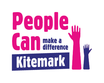 People Can make a difference Kitemark logo
